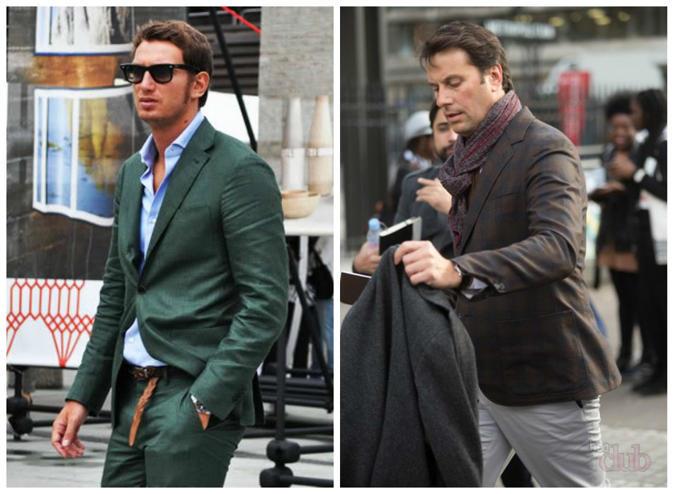 444518e7deb2 A férfiak öltönyei sokáig nem voltak ruhák hivatalos alkalmakért. Nem  feltétlenül pasztell, sötét vagy világos színű. Az utcai stílus lehetővé  teszi ...